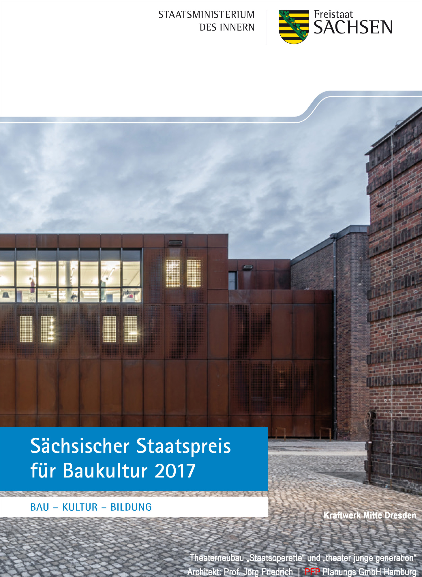 Sächsischer Staatspreis für Baukultur 2017